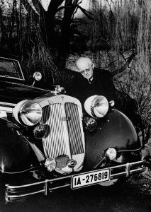 August Horch with his 853