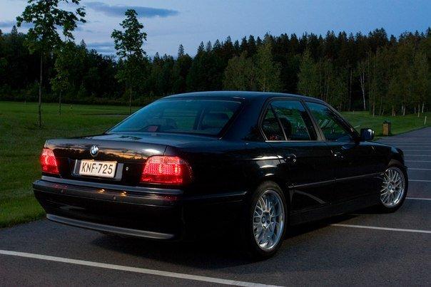 BMW e38 735 на механике