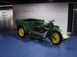 Трицикл Mazda