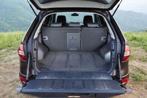 Renault Koleos багажник