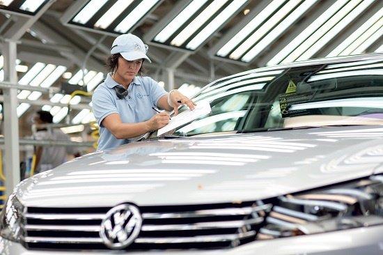 Volkswagen отзывает автомобили