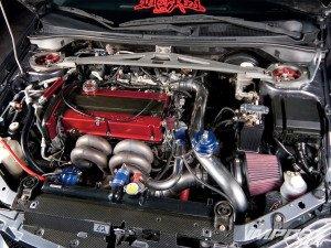 двигатель Lancer Evolution