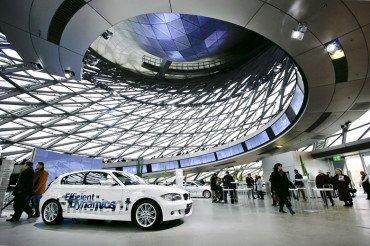 Музей в Мюнхене «Мир BMW»