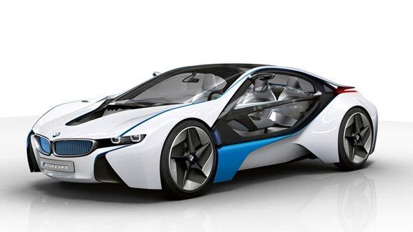 BMW представил спорткар с лазерной оптикой