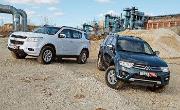 Выбор между Mitsubishi Pajero Sport и Chevrolet Trailblazer