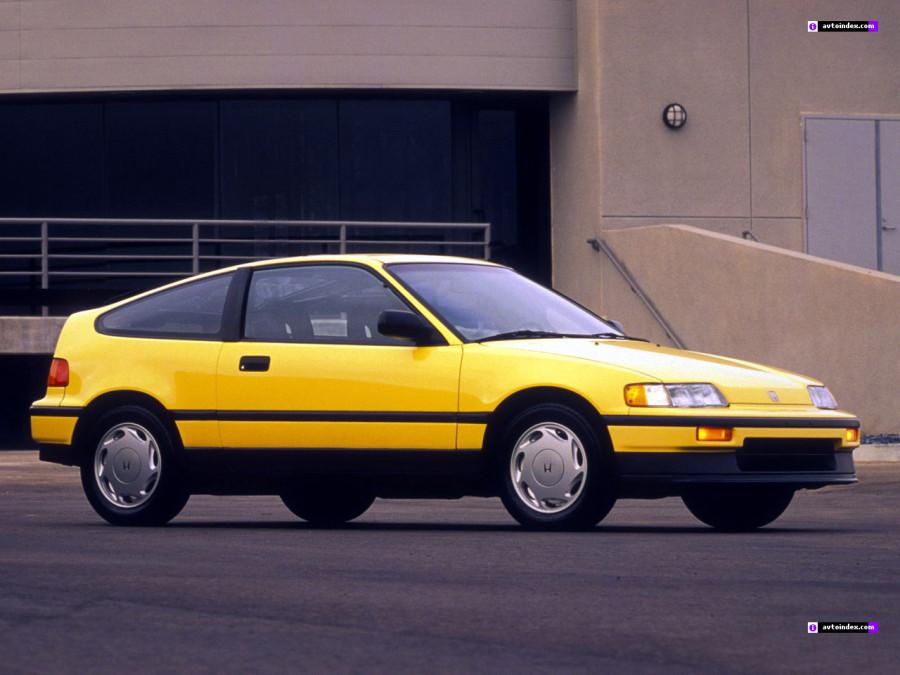 Обзор автомобиля Honda CRX. История модели