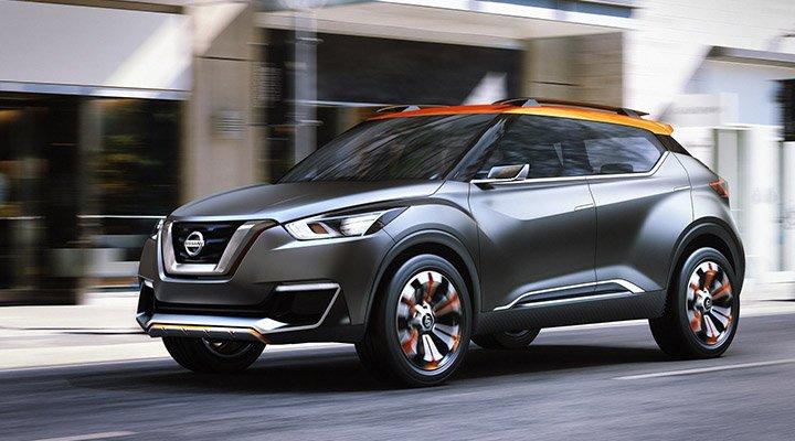 Nissan выпустит кроссовер Kicks