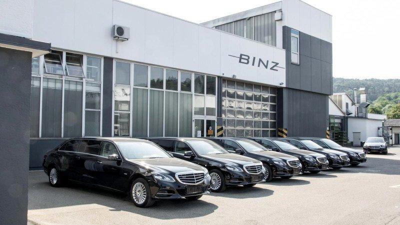 Лимузин на базе Mercedes E-Class от Binz