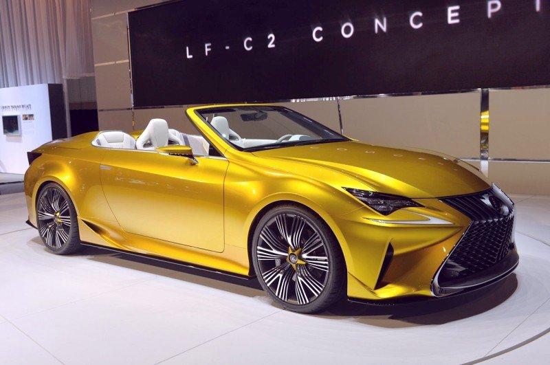 Lexus c LF-C2 ушли в отказ?
