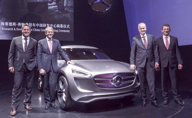 Дебют кроссовера будущего от Mercedes-Benz