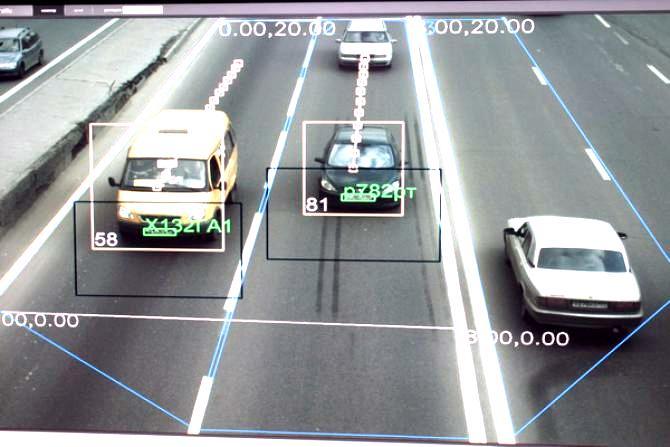 система видеофиксации автомобилей