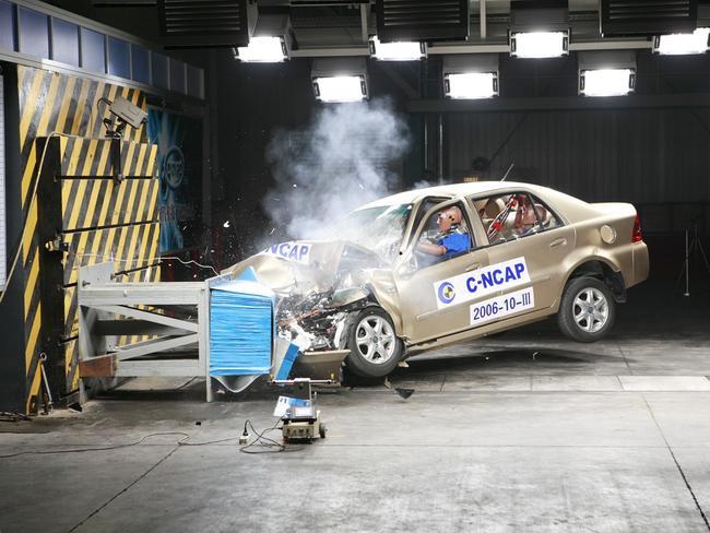 Краш-тест автомобілів