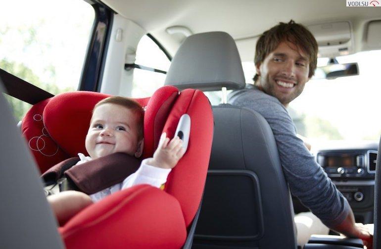 дети на переднем сиденье авто