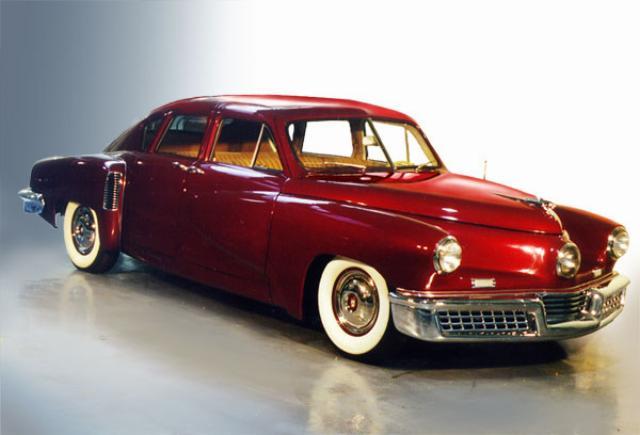 the life of preston tucker an automobile designer