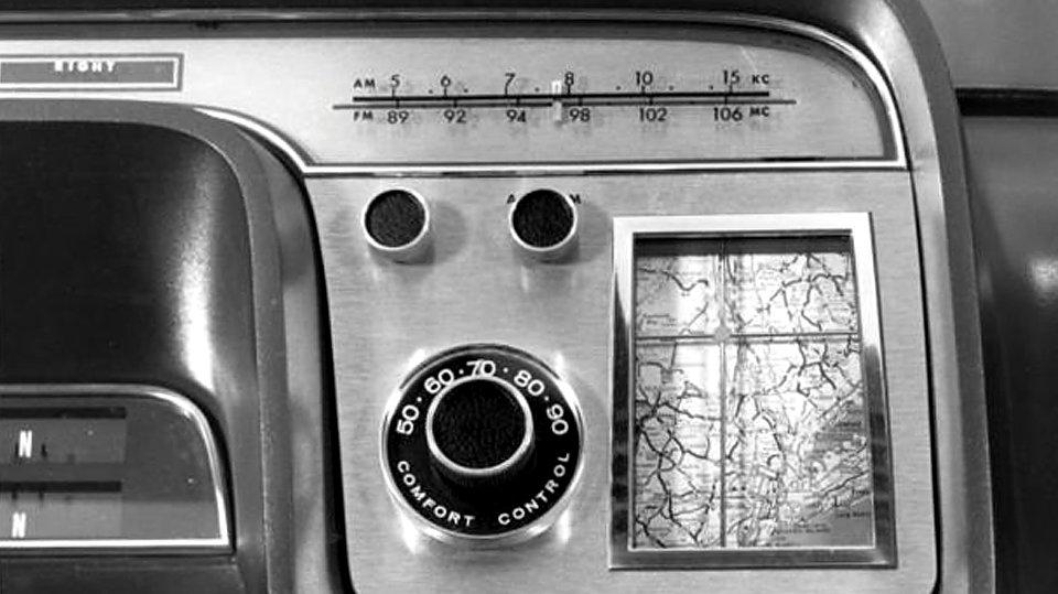 первая автомобильная «навигация»