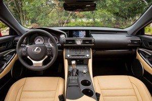 салон Lexus RC 350