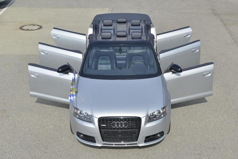 Кабриолет Audi A3 получил шесть дверей