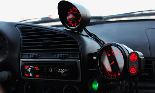 приборы в авто
