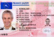 польское водительское удостоверение